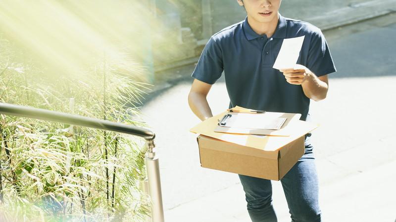 【求人募集】通販商品の配達スタッフを募集中です!